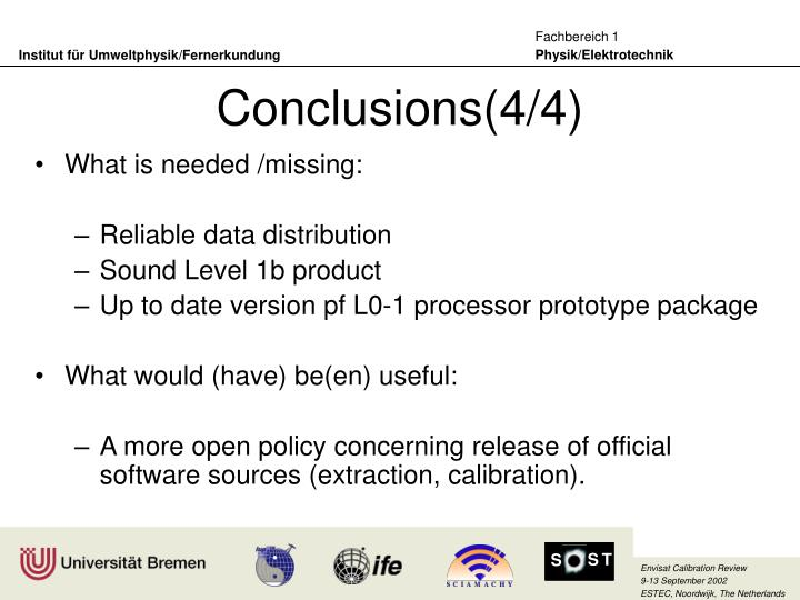 Conclusions(4/4)
