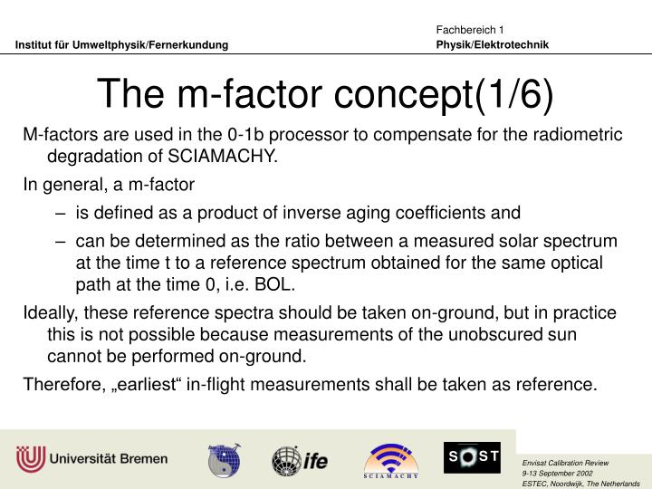 The m-factor concept(1/6)