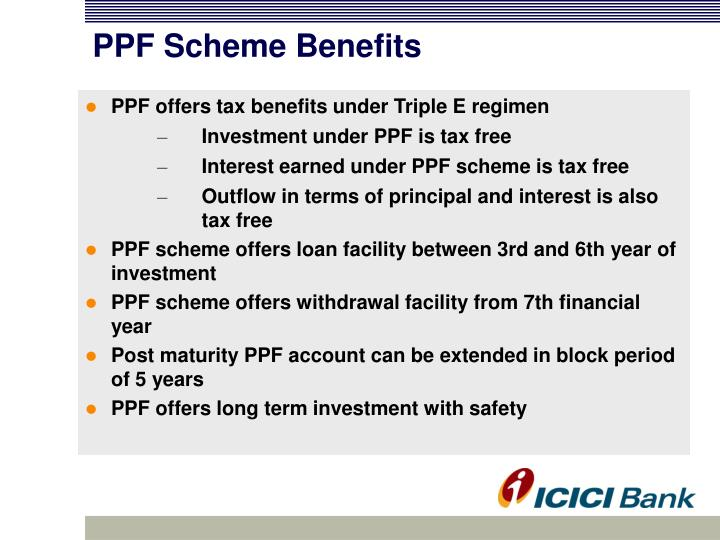PPF Scheme Benefits