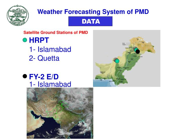 Weather Forecasting System of PMD