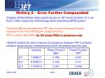 history 2 error further compounded