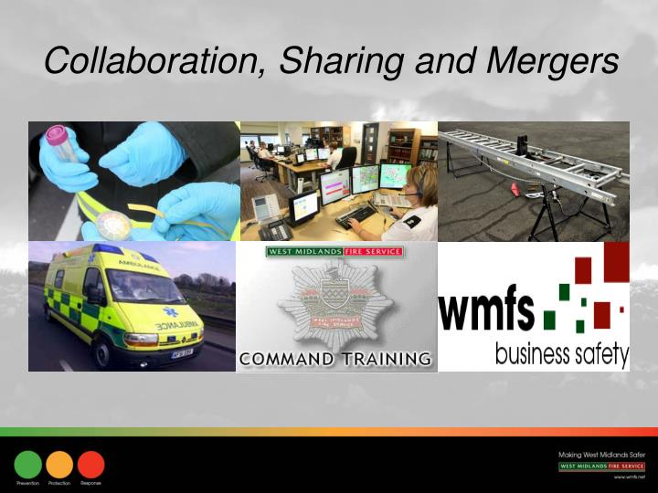 Collaboration, Sharing and Mergers