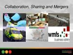 collaboration sharing and mergers