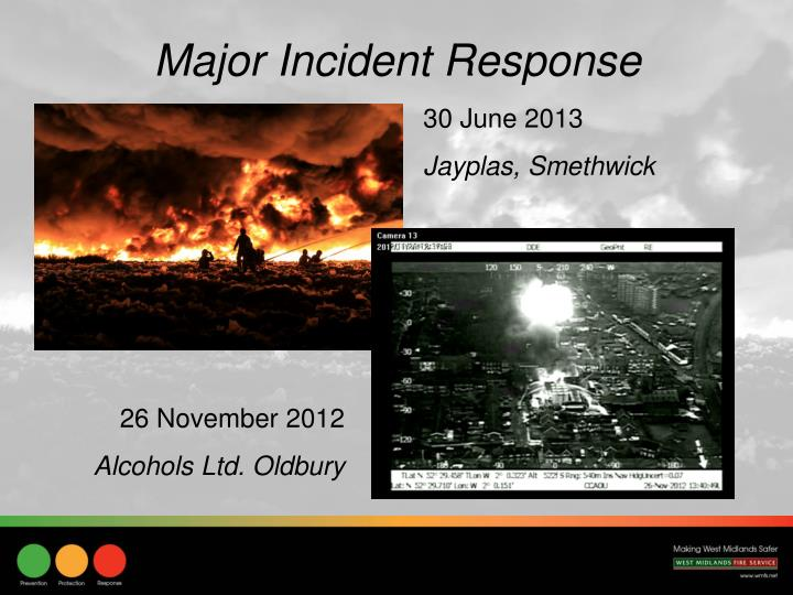 Major Incident Response