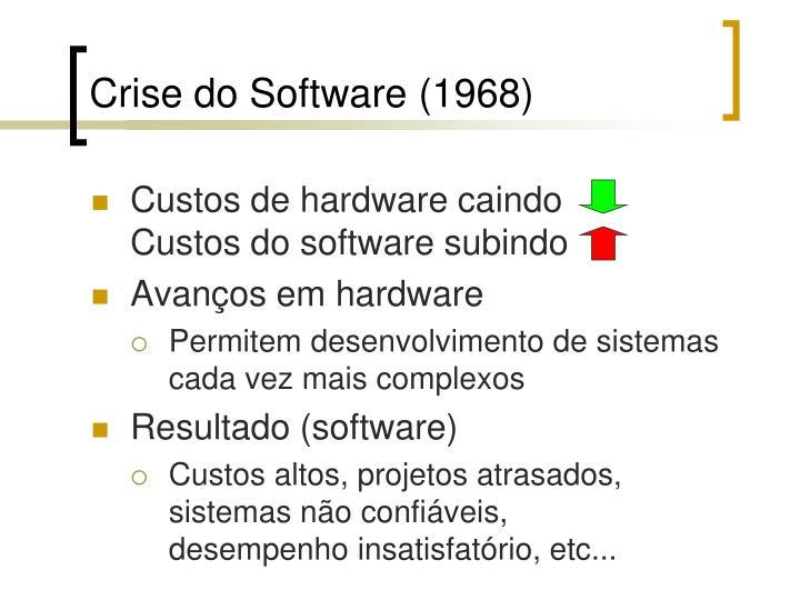 Crise do Software (1968)