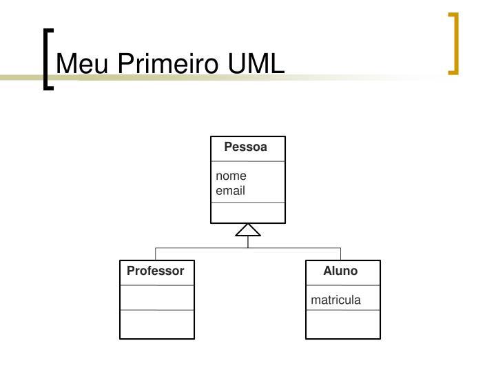 Meu Primeiro UML