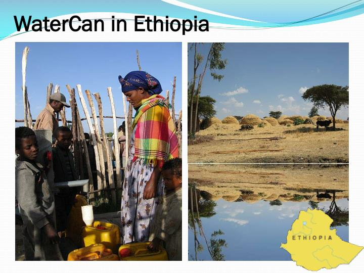 WaterCan in Ethiopia