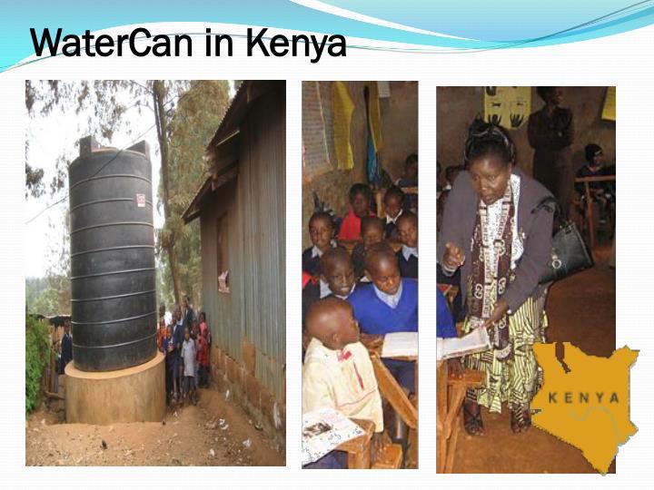 WaterCan in Kenya