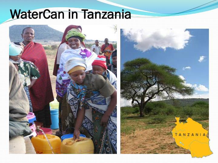 WaterCan in Tanzania