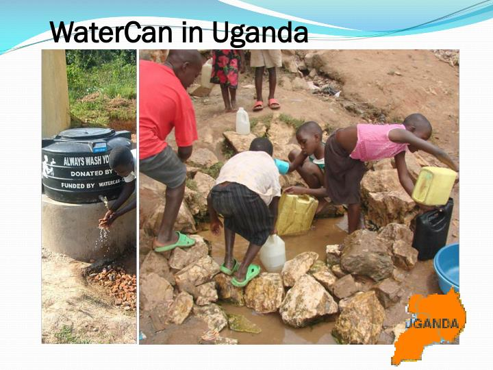 WaterCan in Uganda