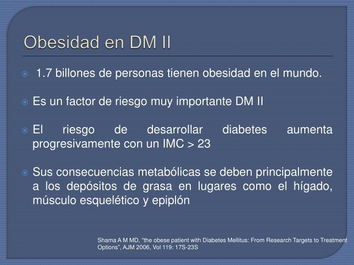 Obesidad en DM II