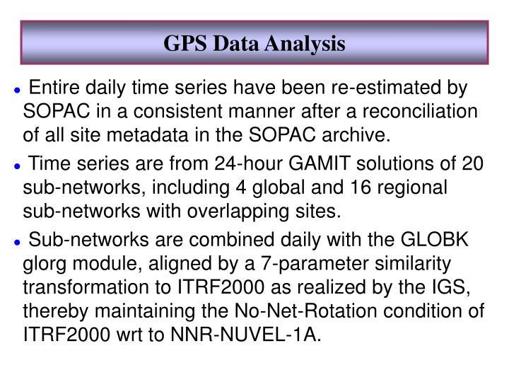 GPS Data Analysis