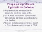 porqu es importante la ingenieria de software
