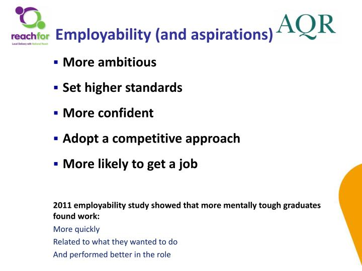 Employability (and aspirations)