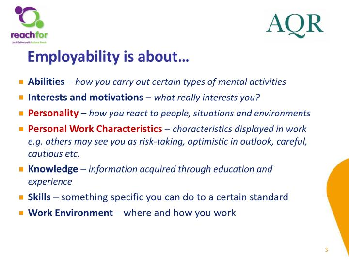 Employability is about…
