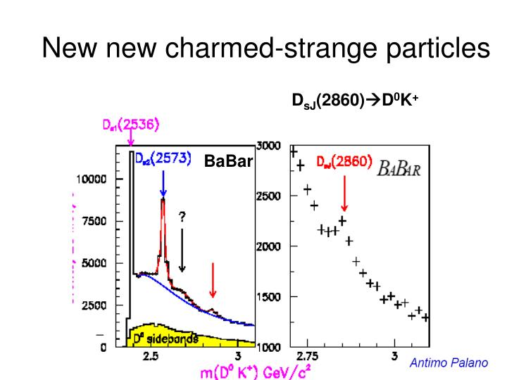 New new charmed-strange particles