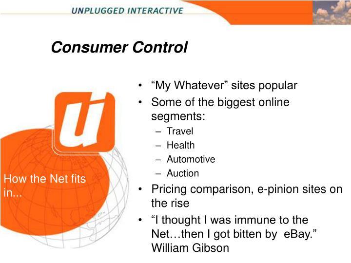 Consumer Control