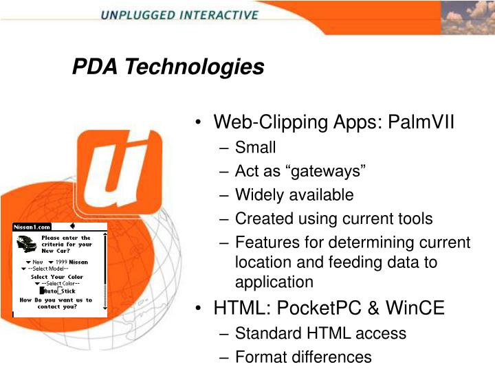 PDA Technologies
