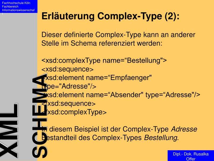 Erläuterung Complex-Type (2):