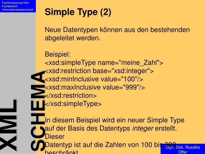Simple Type (2)