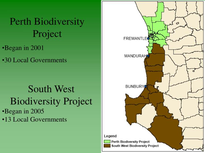 Perth Biodiversity Project
