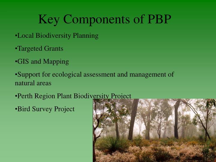 Key Components of PBP