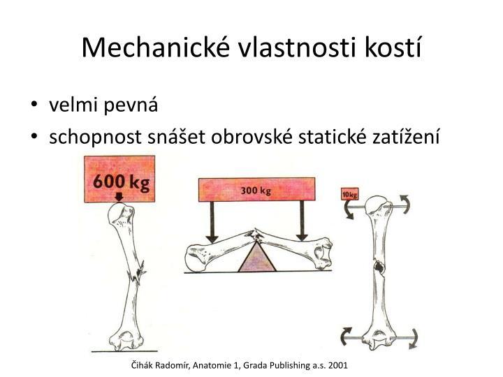 Mechanické vlastnosti kostí