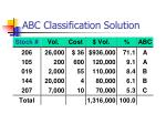 abc classification solution1