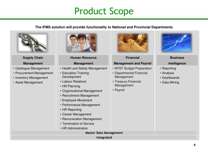 Product Scope