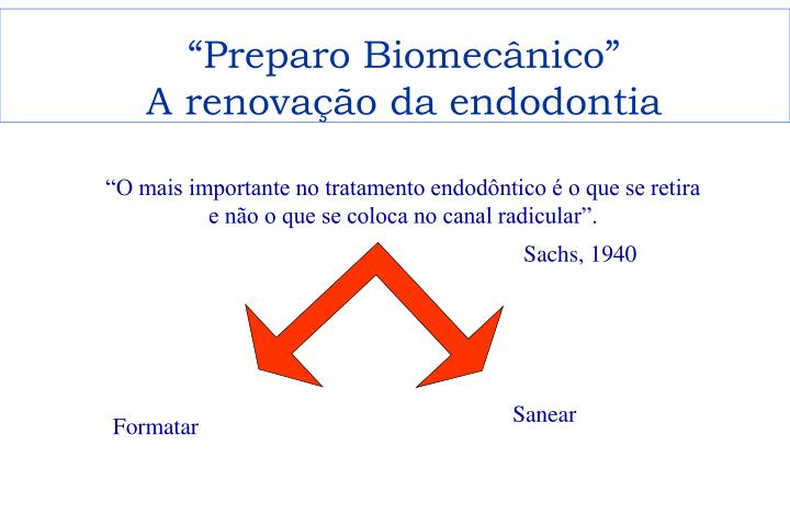 """""""Preparo Biomecânico"""""""