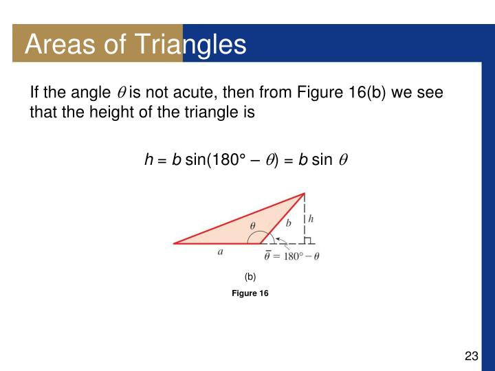Areas of Triangles