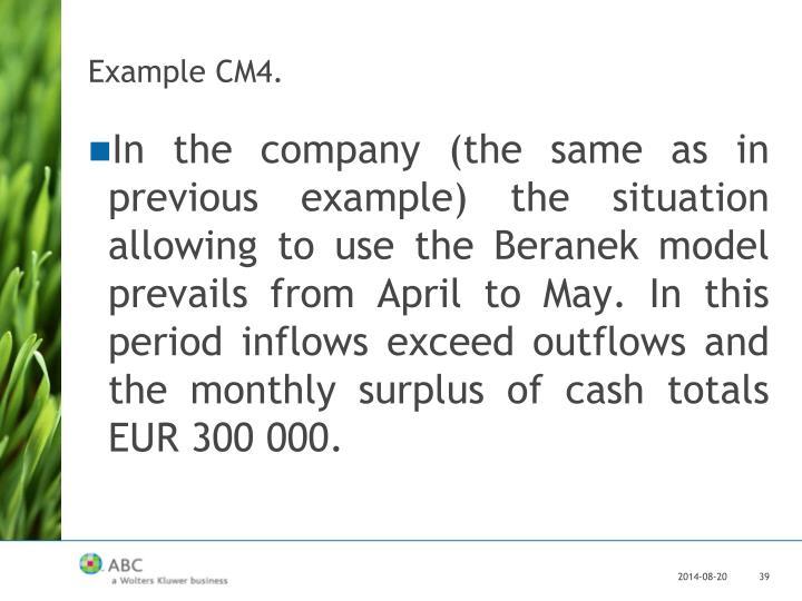 Example CM4.