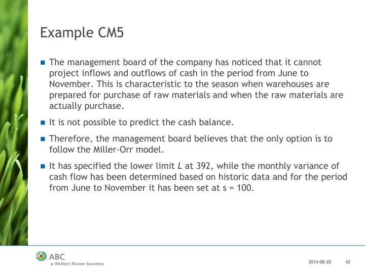 Example CM5