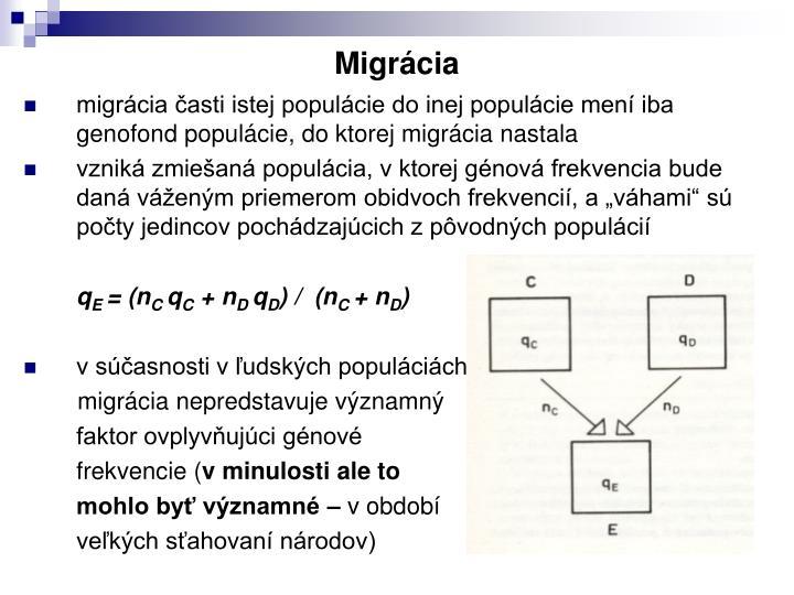 Migrácia