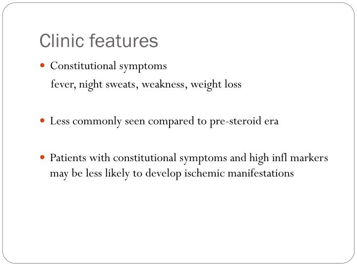 Clinic features