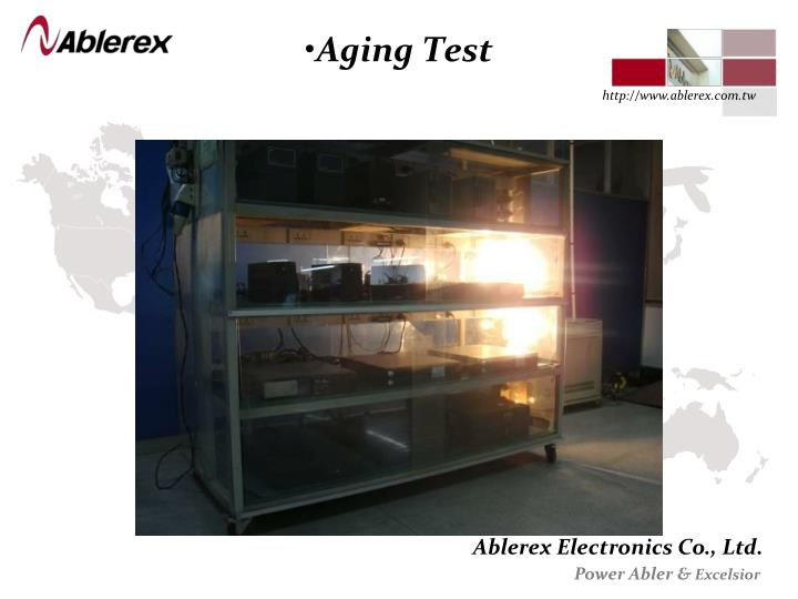 Aging Test