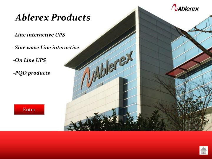 Ablerex Products
