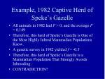 example 1982 captive herd of speke s gazelle
