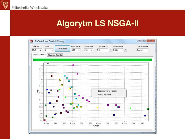 Algorytm LS NSGA-II
