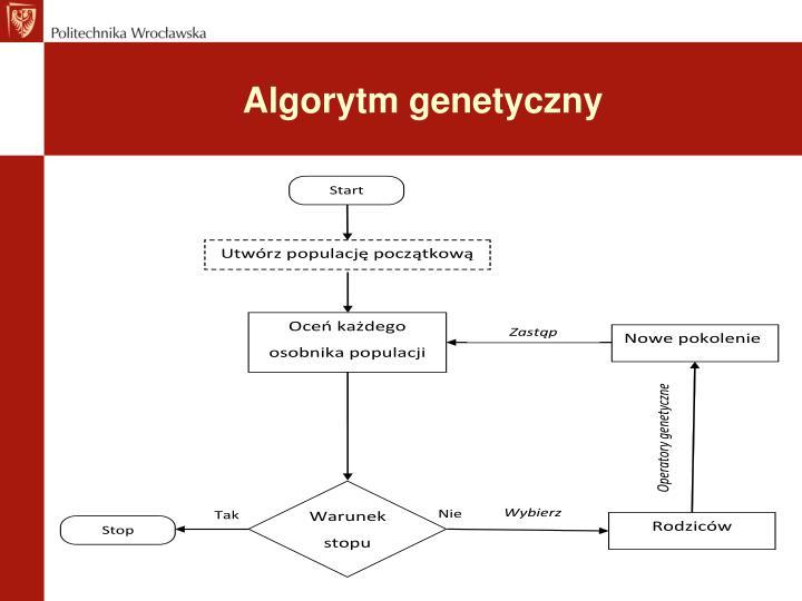 Algorytm genetyczny