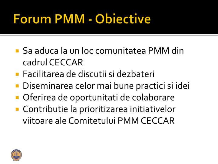 Forum PMM -
