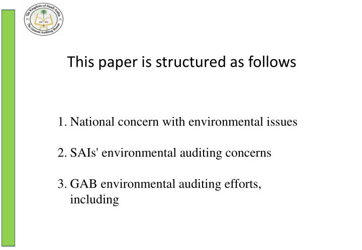 This paper is structured as follows