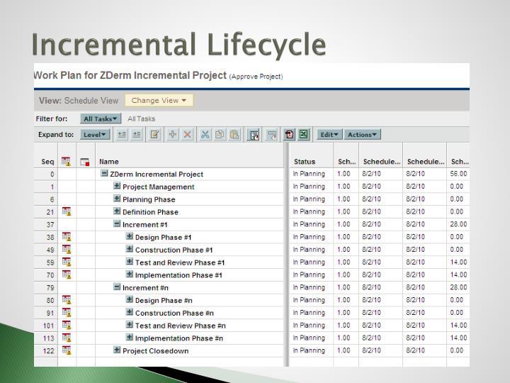 Incremental Lifecycle