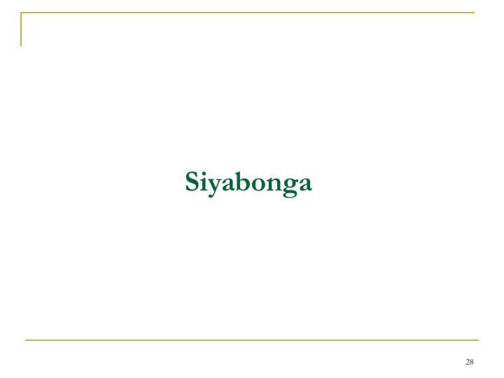 Siyabonga