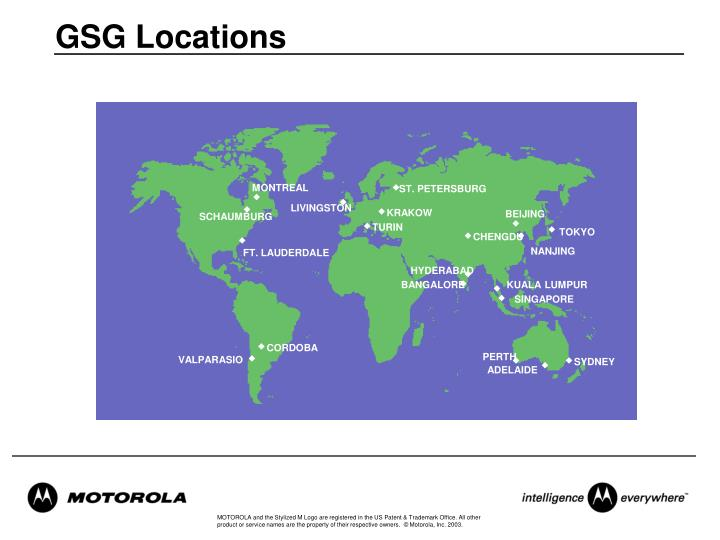 GSG Locations