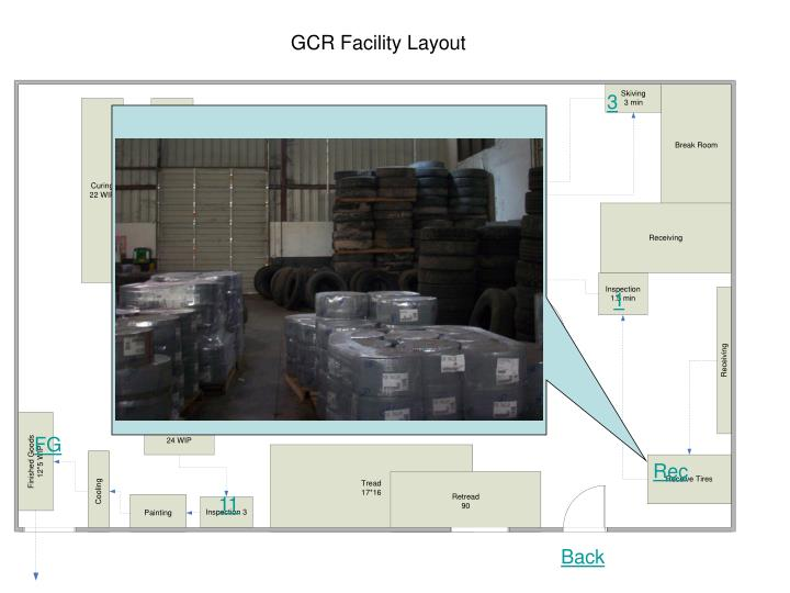 GCR Facility Layout