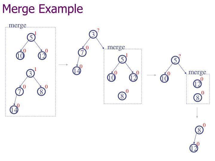 Merge Example