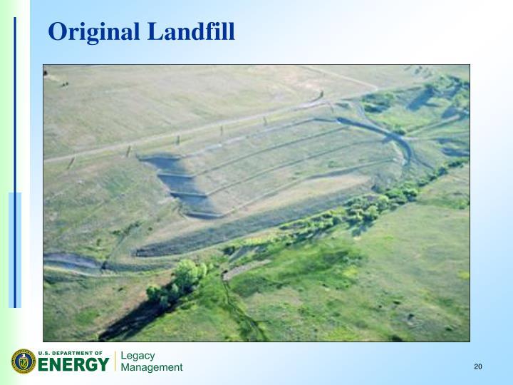 Original Landfill