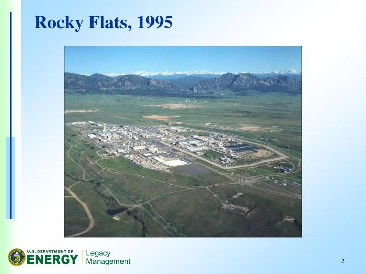 Rocky Flats, 1995