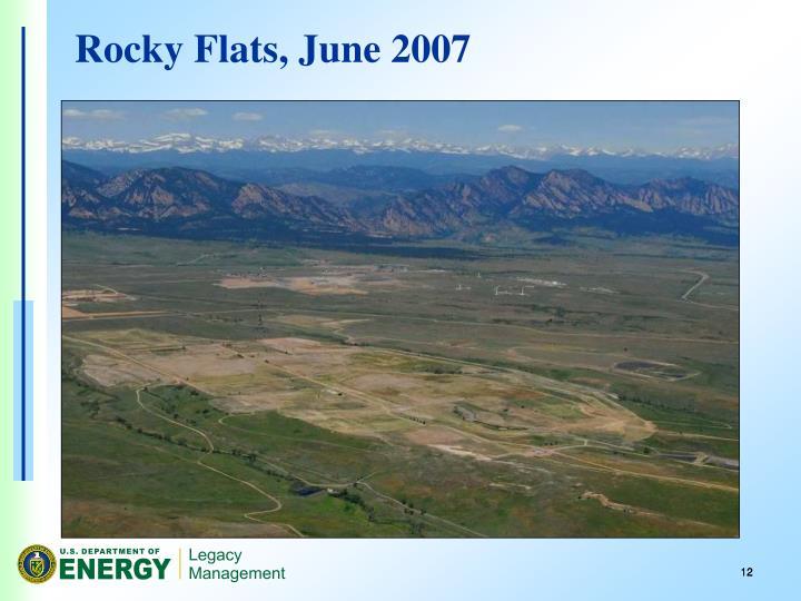 Rocky Flats, June 2007